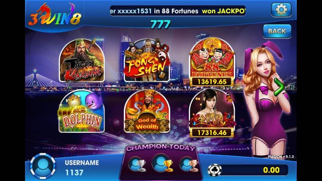 3WIN8 Situs Judi Slot Games Online Indonesia - Jomwins